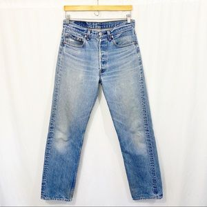 Vintage Levi's 501xx Made in USA Denim Jeans